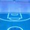 Glowing gym floor