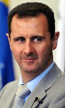 Bashar Hafez al-Assad is the President of Syria