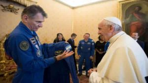 pope and space